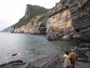 pareti rocciose a Portovenere