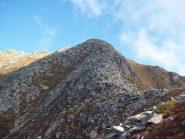 cresta di discesa dal Canaussa alle Gheule