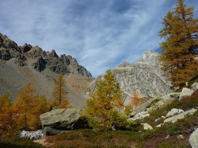 Mittelberg (Passo) da Alpe Devero, anello 2010-10-12