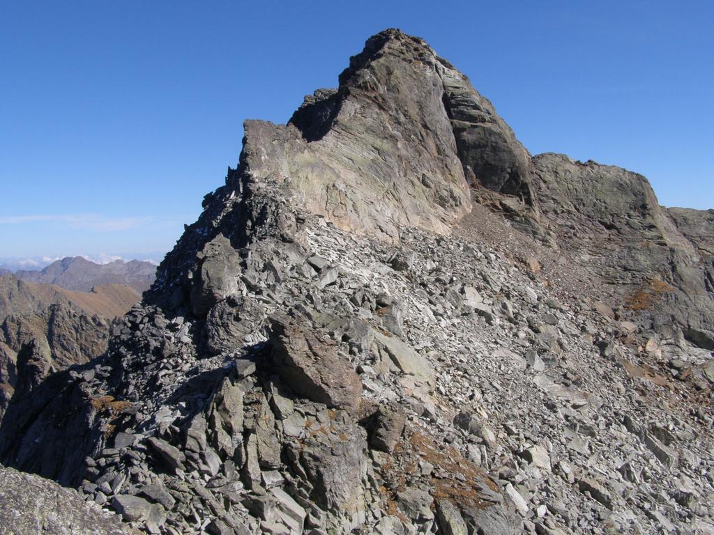 cresta ovest della Becca Vlou dalla Torchè