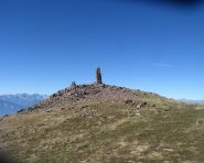 La vetta del Monte Fregasoga (m.2451).