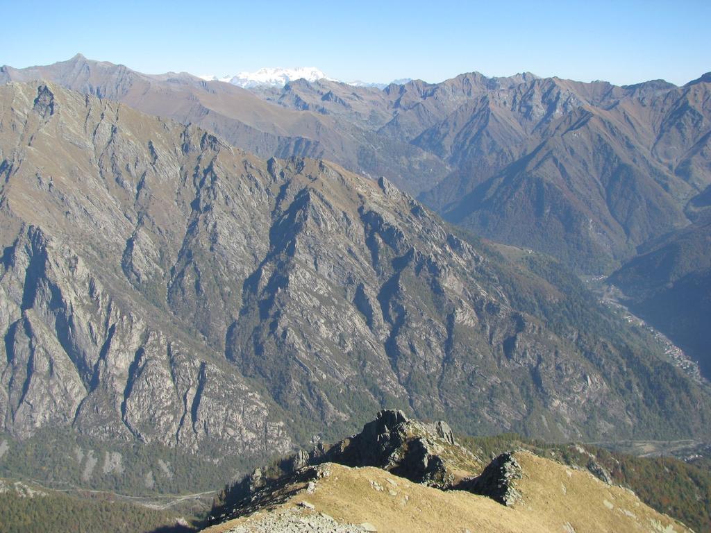 Panorama sulla Val Soana