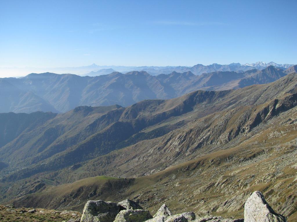 Panorama sulla Valle di Ribordone