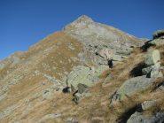 IL Monte Colombo dalla cresta di salita