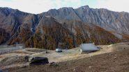 la Bergerie di quota 2365 m. che si incontra in salita (16-10-2010)