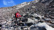 Stelvio nella parte alta del versante SE del Grand Queyras (16-10-2010)