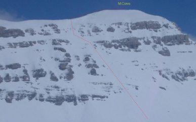 M.Corvo (discesa diretta dalla vetta per il versante Sud)