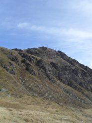 il monte Paglietta visto dal ricovero di fortuna