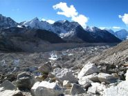 Ghiacciaio del Khumbu verso Lobuche