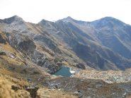 Panorama su Lago della Verdassa con Verzel e Quinzeina