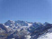 panorama sulla Grand Rousse