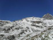 in lontananza il colle visto dall'alpe Ravera Basse