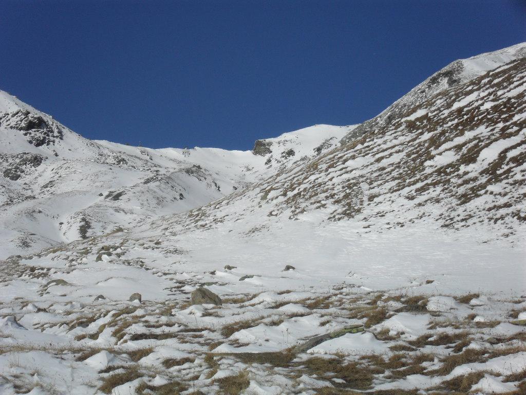 in vista del colle du Mont