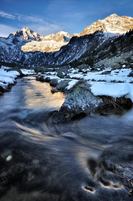 Valcuca (Lago di) da Terme di Valdieri 2010-10-21