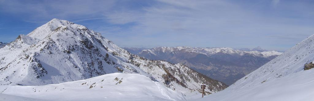 Situazione neve al colle di Marchiana