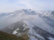 Vista verso SW dal Monte Vecchio