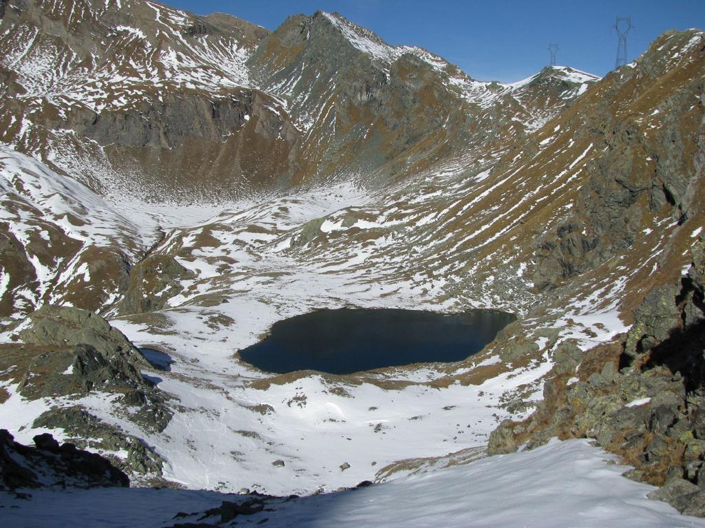 Discesa su Lago La Reale