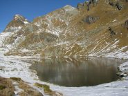 Lago e Monte Santanel e Monte Nero