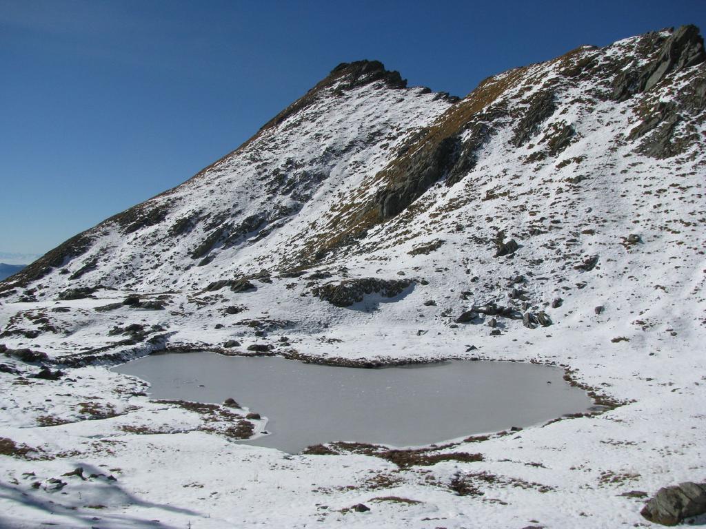 Lago Teppon e Punta di Belvedere