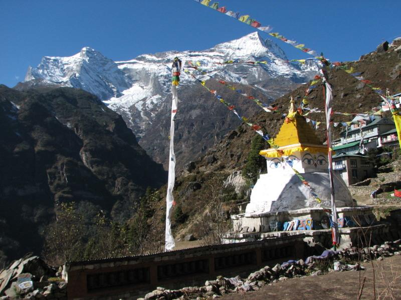 Everest view Trekking da Phaplu a Namche Bazaar-Everest view (7 gg.) 2010-10-31