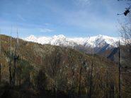 Panorama sull'alta Valsoana