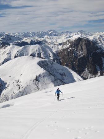 Mondolè (Monte) da Artesina, giro per Colla Bauzano e Colle della Balma 2010-11-06