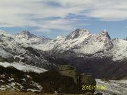 Testata della Val d' Ala, dalle vicinanze della cima