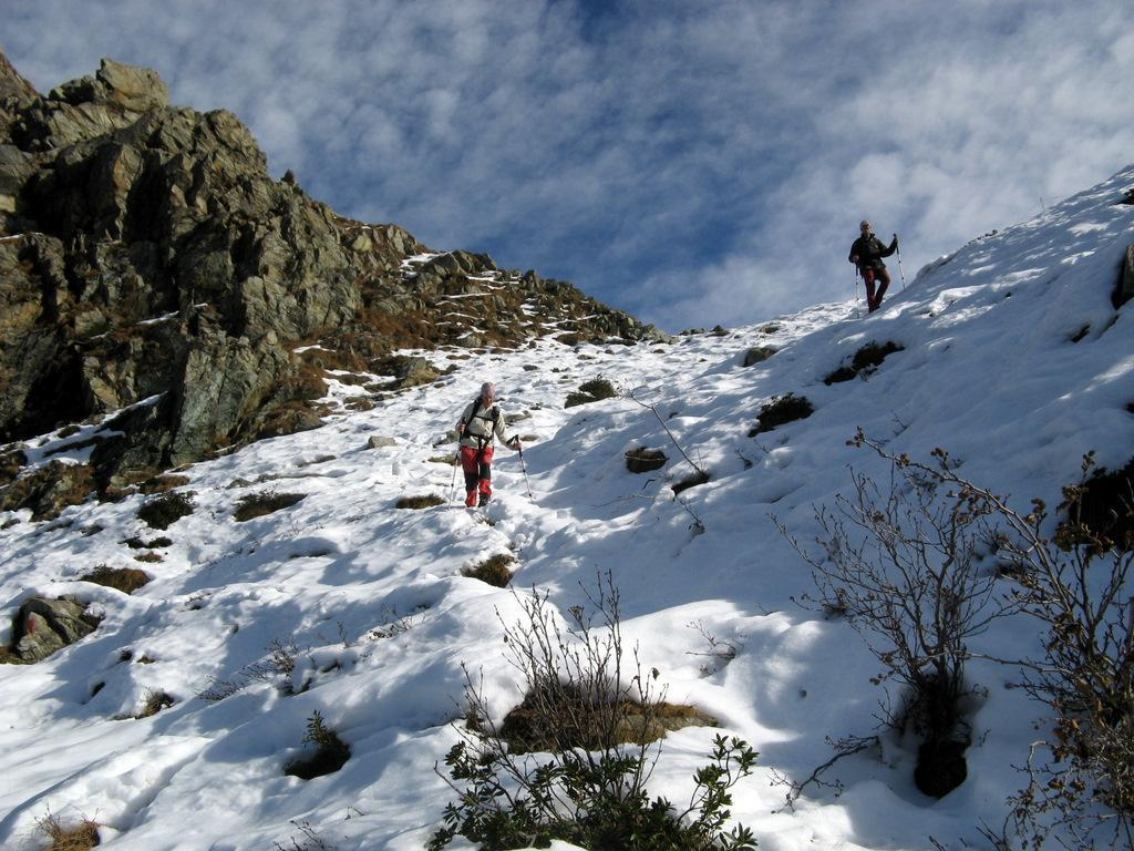 Scendendo dall'Alpe La Colla
