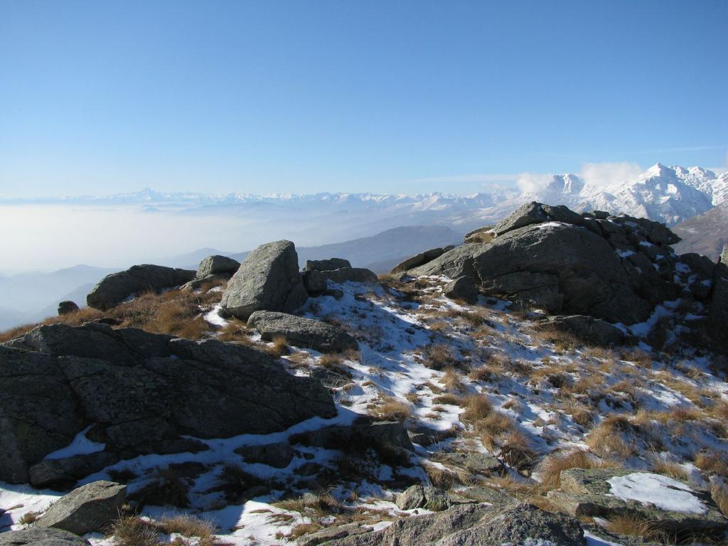 Panorama verso sud-ovest