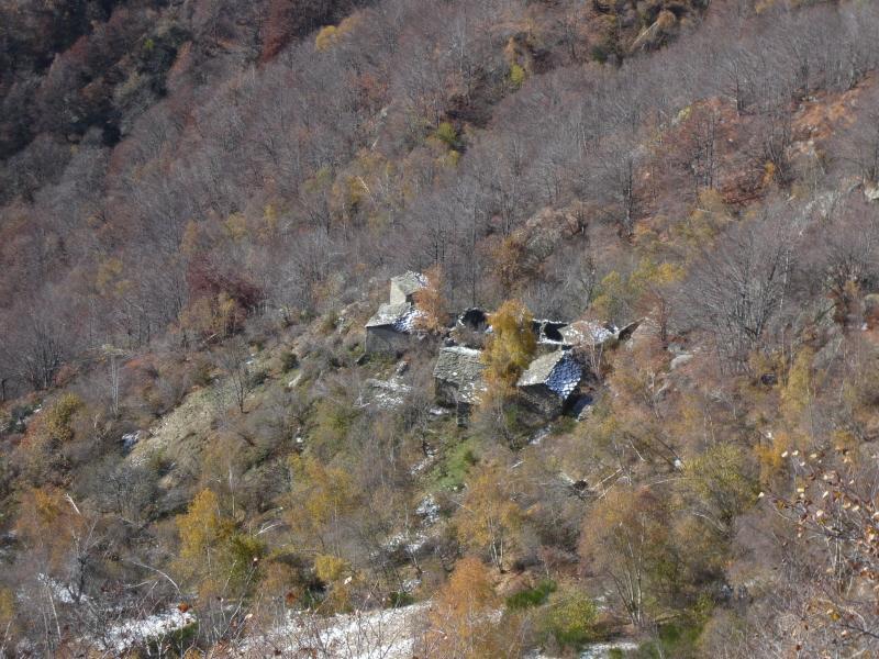 il borgo di betassa dalla cima