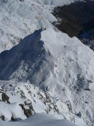 cresta est e giacoletti dalla cima