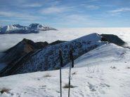 Panorama sulla cresta est