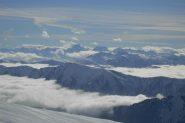 Panorama sopra le nubi