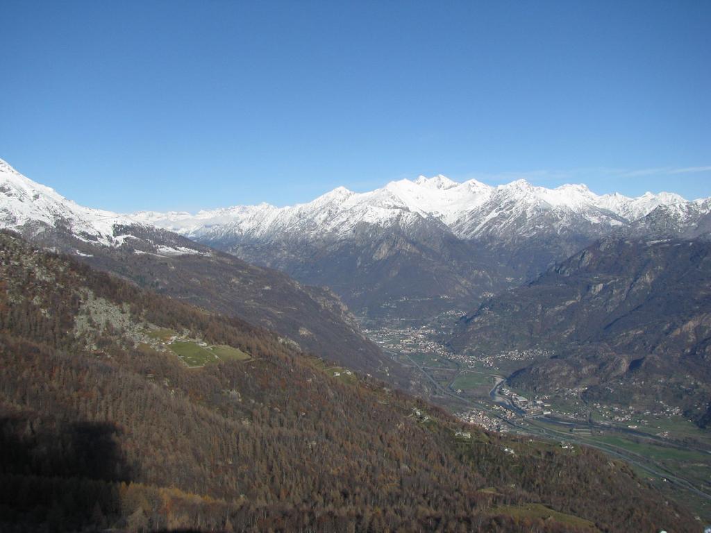 Panorama sulla valle dal Cavallaria
