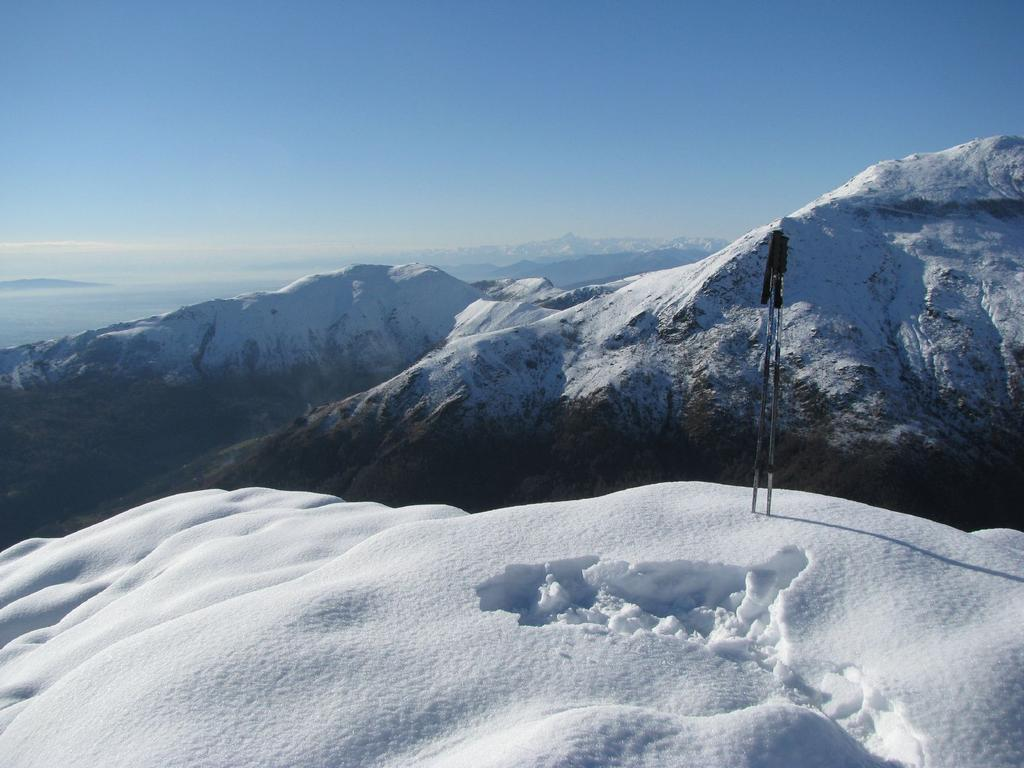 La sommità del Mont d'la Guia