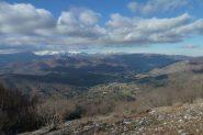 Conca di Bardineto e Alpi Liguri sullo sfondo