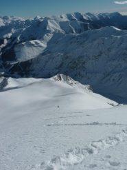 arrivano i primi scialpinisti