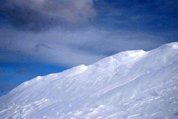 la cresta del Cavallo Bianco