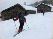 ...arrivo all' Alpe Leretta...
