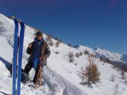 Al Col Bourget con la Val Troncea