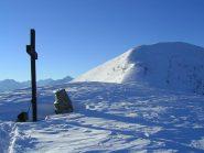 L'Alpe di Rittana vista dalla croce del colletto