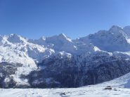 panorama verso il fondo valle