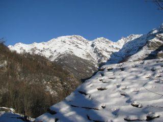 Salendo a cantoncello, il Monte Vailet