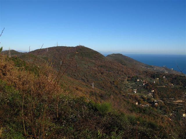 Verso la cima di Vegliasco e il Bignone