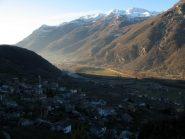 Carema e monte Cavallaria sullo sfondo