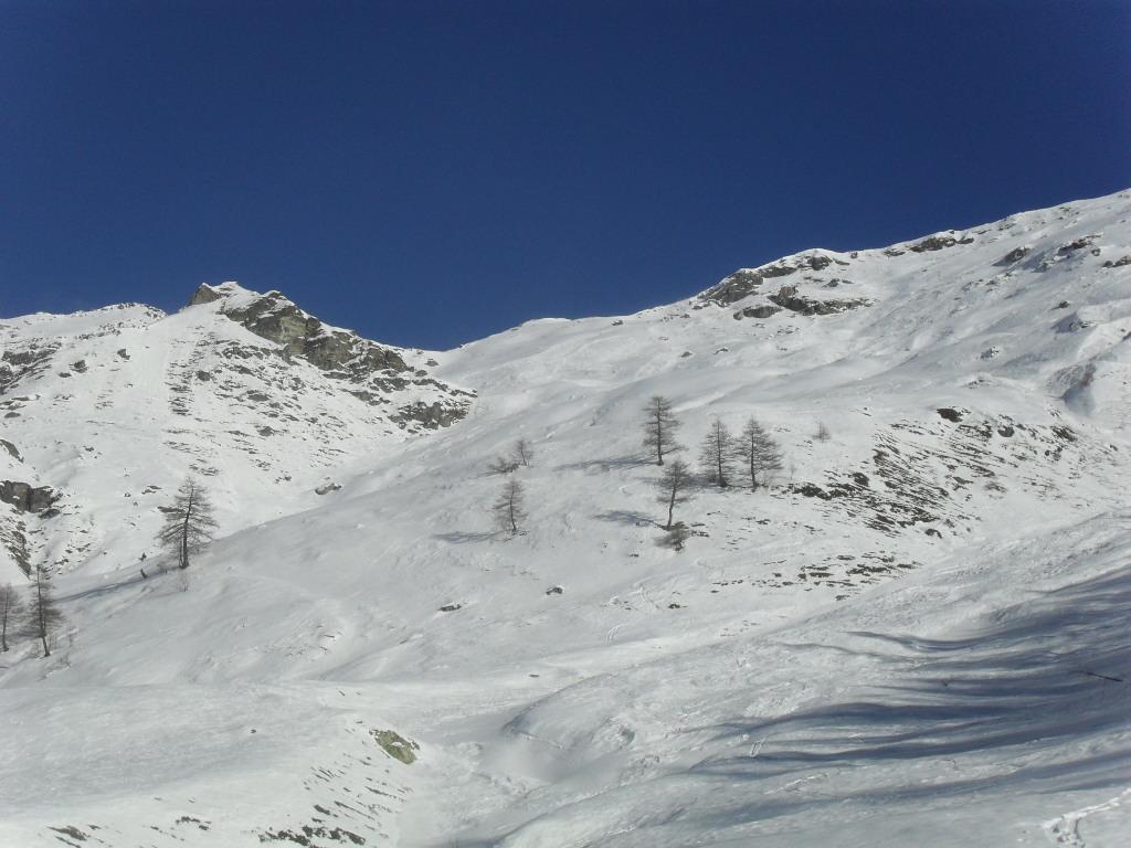 Champorcher (Costa di ) quota 2597 m da Porliod 2010-12-12