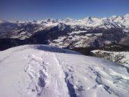 Panorama di Torgnon