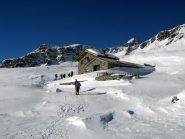 Arrivo all'Alpe Raty