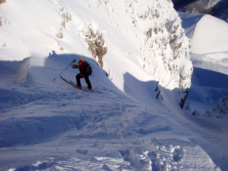 Terminillo (Monte)Canalone centrale 2010-12-28