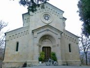 la chiesa di madonna della guardia a pantasina